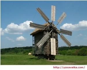 Ветняная мельница как ветроустановка