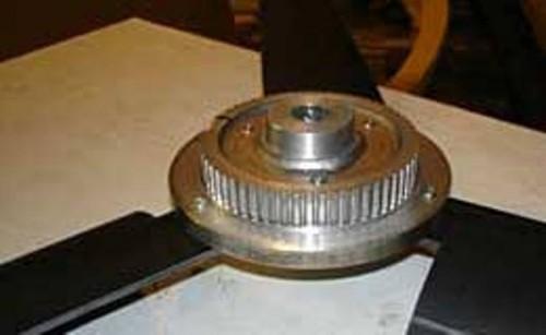 Крепление лопастей к ротору ветрогенератора