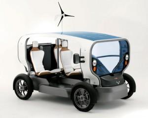 Электромобиль Ecletic на солнечных батареях