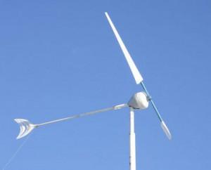Небольшой ветрогенератор