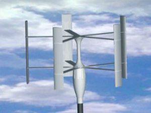 Ортогональный ветродвигатель