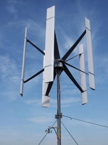 Тихоходные вертикальный ветрогенератор