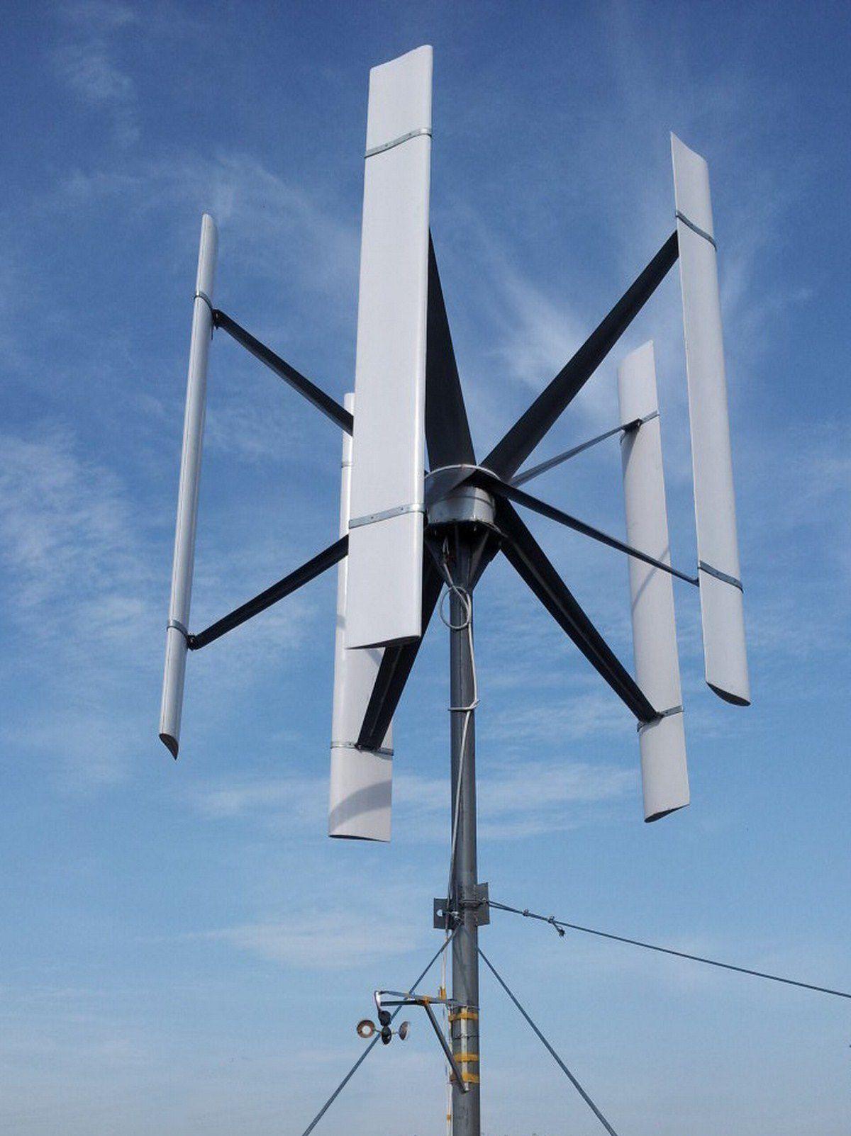 Ветрогенератор тихоходный