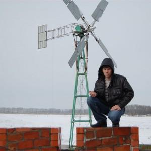Ветроустановка пропеллерного типа