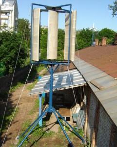 Ветроэлектростанция сделанная своими руками