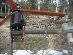 Ветрогенератор на асинхронном двигателе