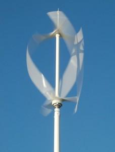 Ветрикальный ветрогенератор Ленца