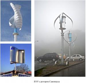 Ветрогенераторы с ротором Савониуса