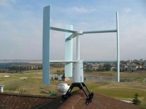 Вертикальный ветряк для дома