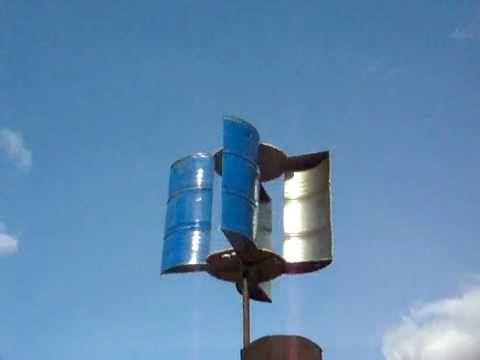 как сделать ветряк для дачи своими руками