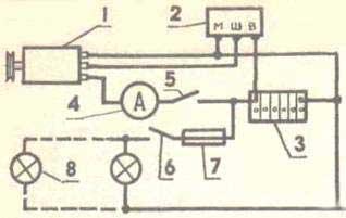 Схема электрооборудования ветрогенератора