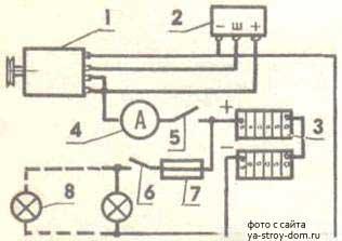 Схема преобразователя ветрогенератора