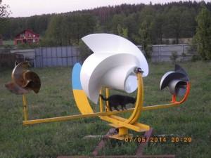 Ветрогенератор Онипко на испытаниях