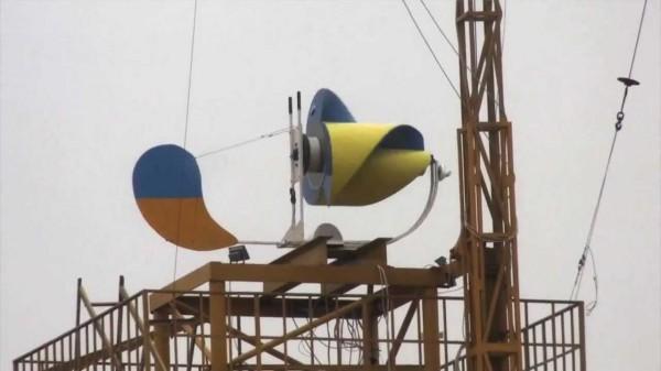 Ветрогенератор Онипко на мачте