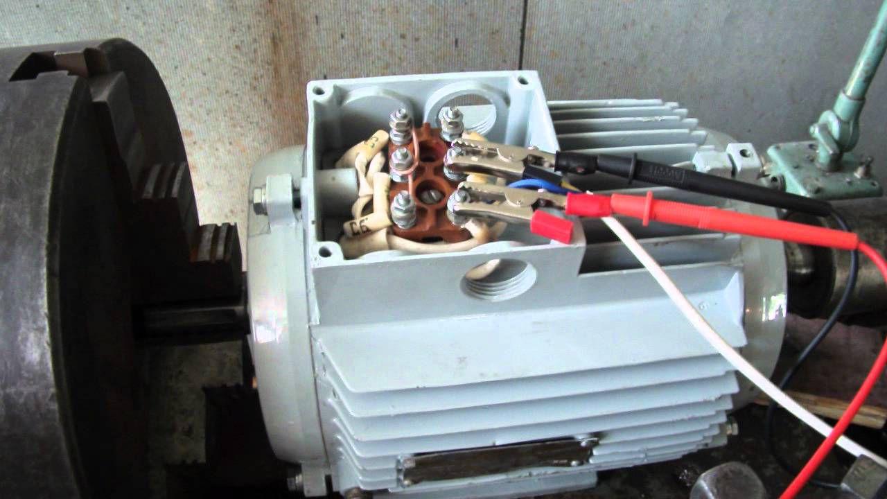 Ветрогенератор из асинхронного двигателя